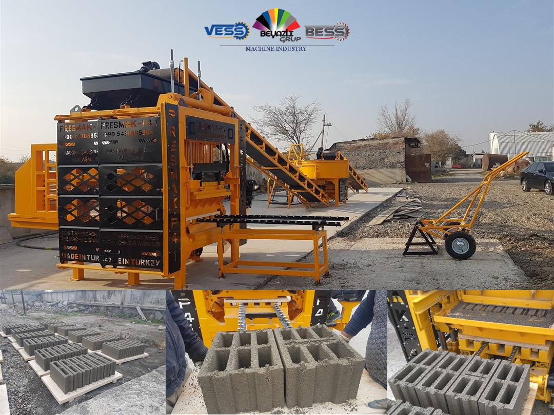 أرخص مصنع بلوك وانترلوك - VESS ماكينة بلوك