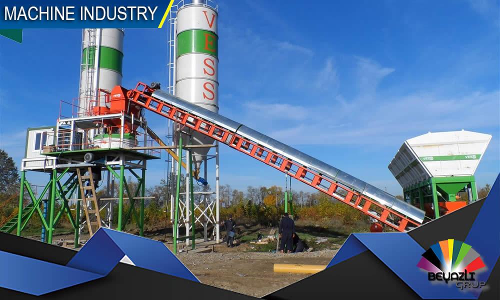 مصنع خرسانة جاهزة متكامل من جميع المعدات